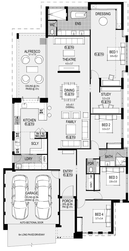 Charleston Platinum floorplan