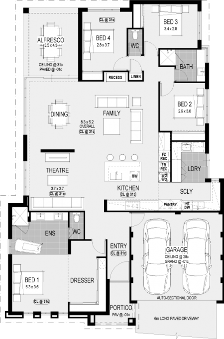 Nebraska Platinum floorplan