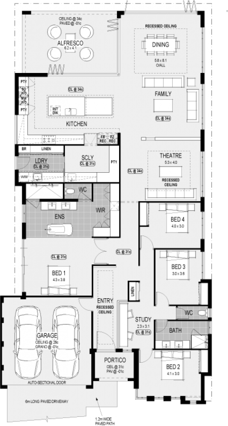 Seattle Platinum floorplan