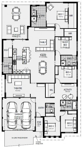 The Athens Floorplan