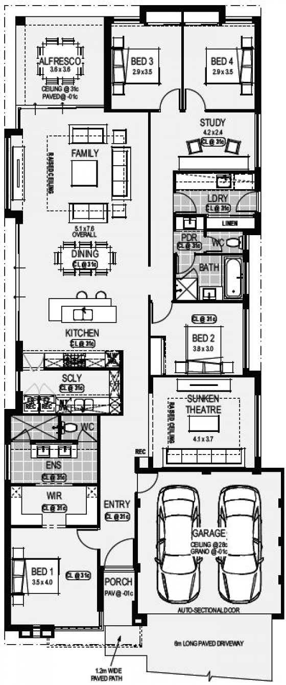 Home designs home group wa plan platinum display home malvernweather Choice Image
