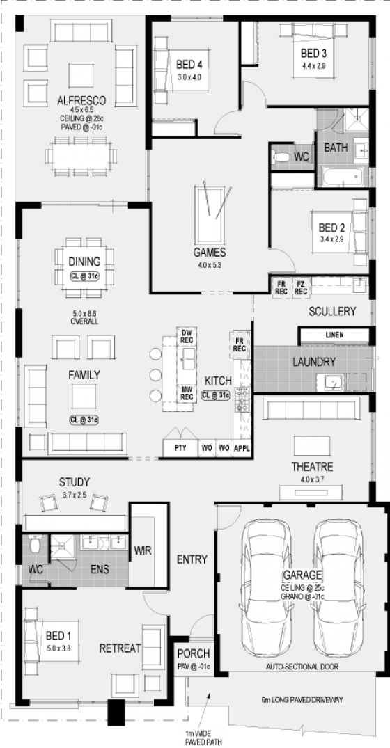 plan - Wa Home Designs