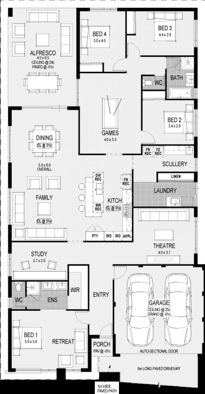 plan - Vienna House Plans