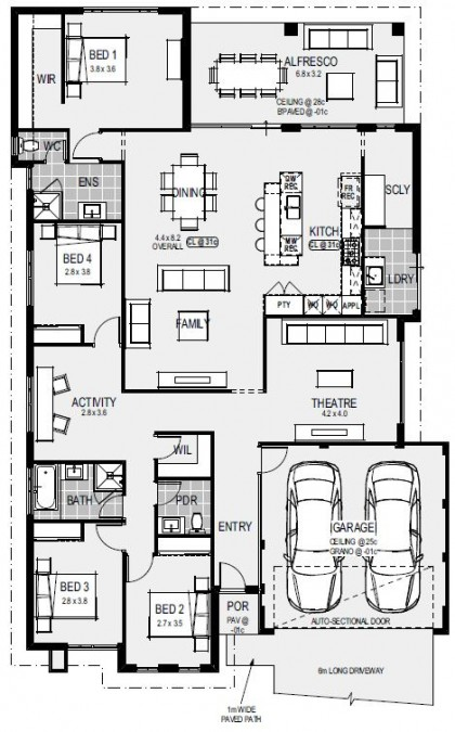 The St Tropez Floorplan